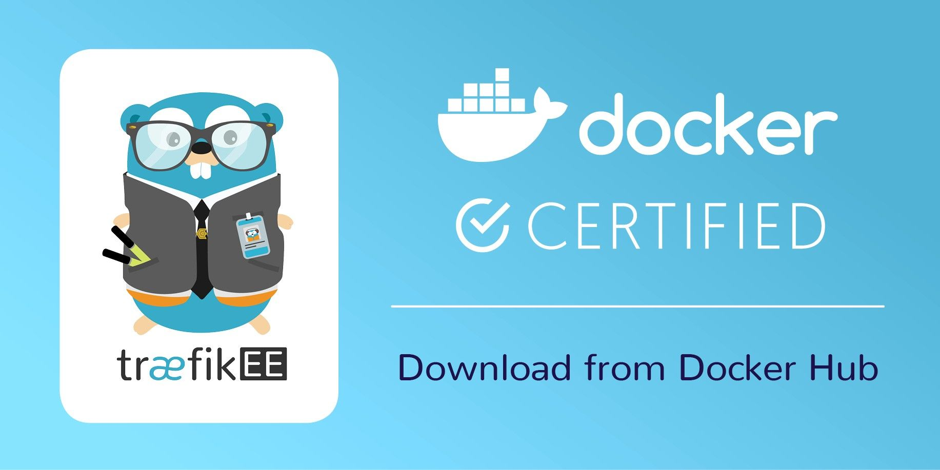 TraefikEE, Now Docker Certified!