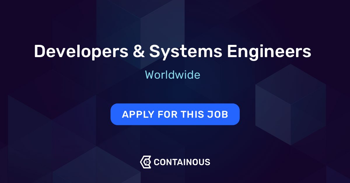 Developers & Systems Engineers