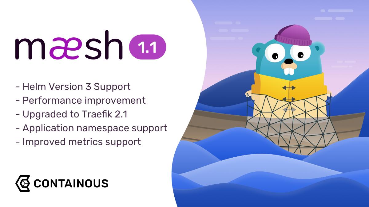 Announcing Maesh 1.1