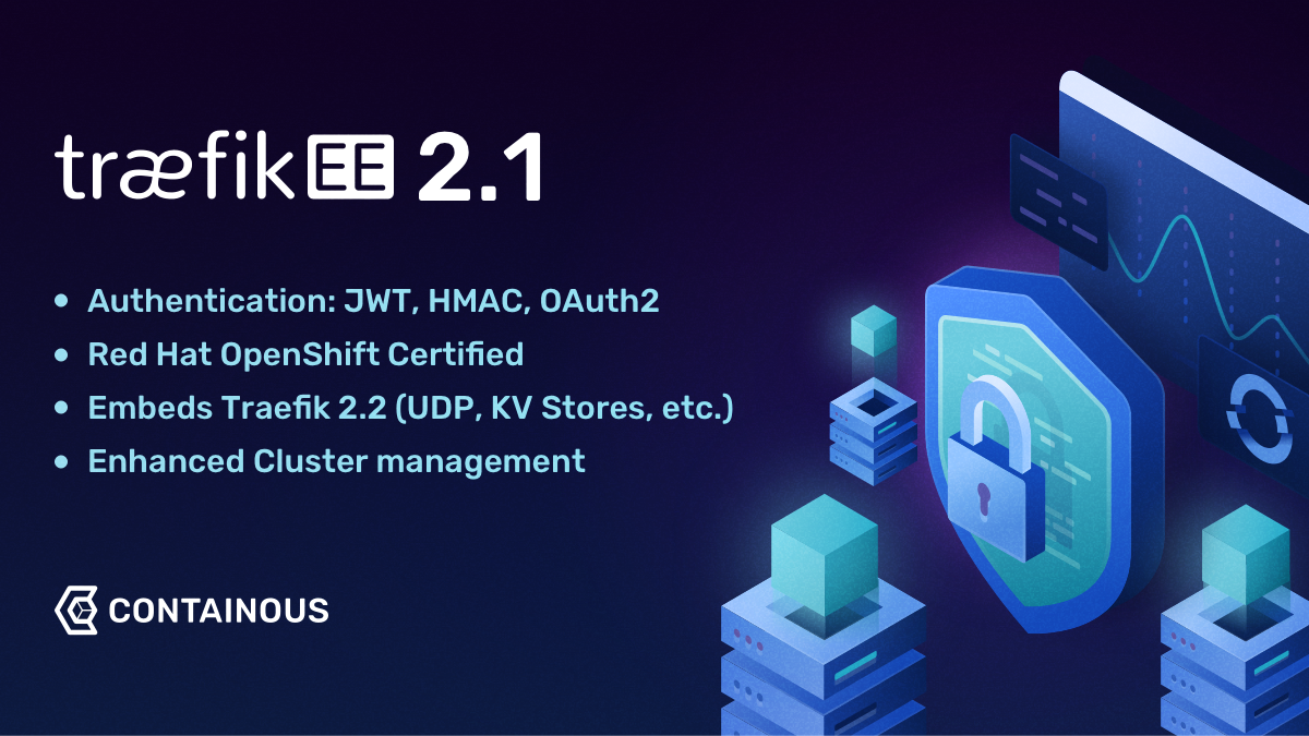 Traefik Enterprise Edition 2.1 Now Available