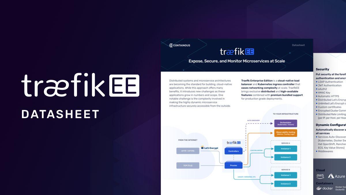 Traefik Enterprise Edition Datasheet