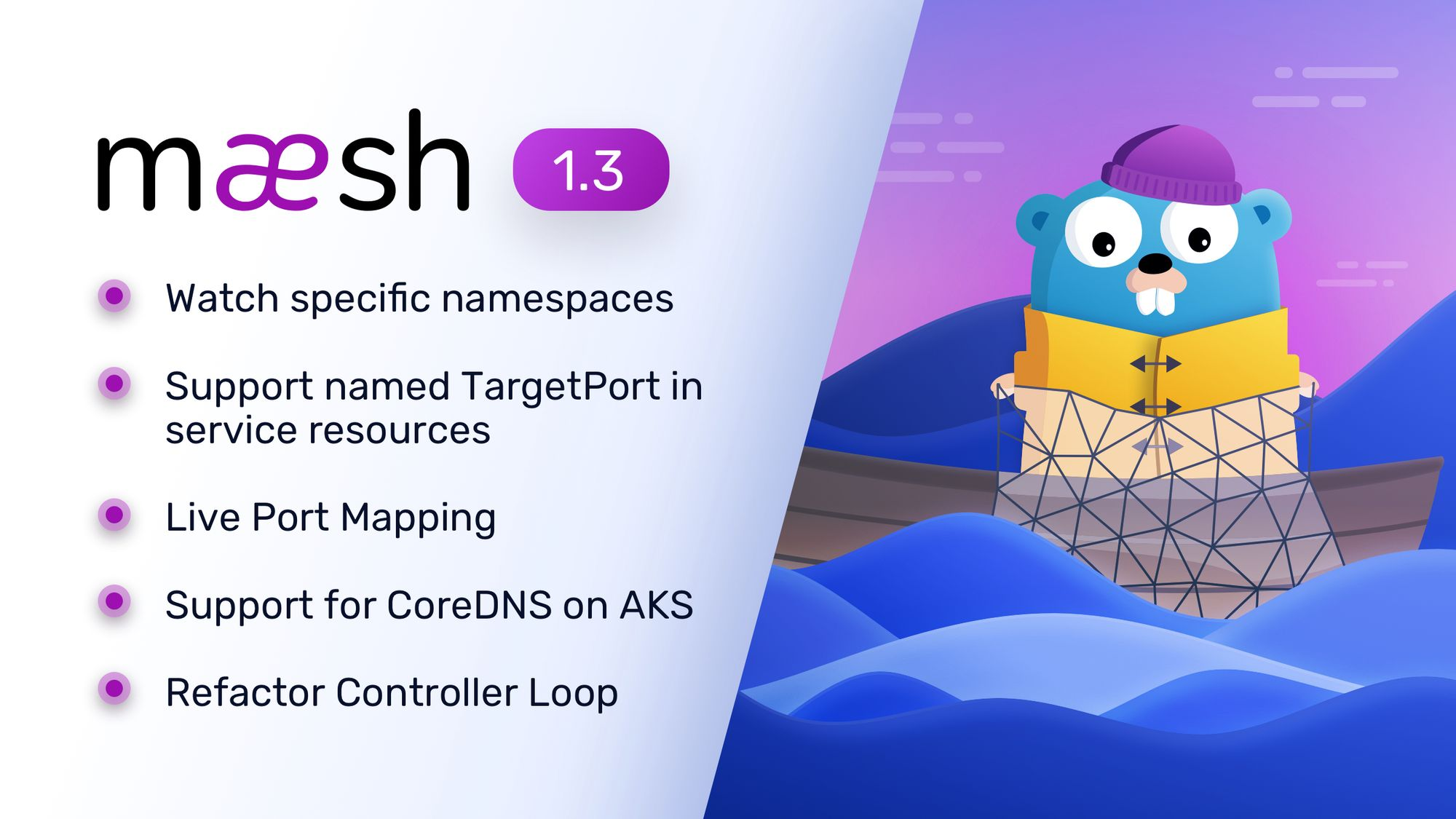 Announcing Maesh 1.3