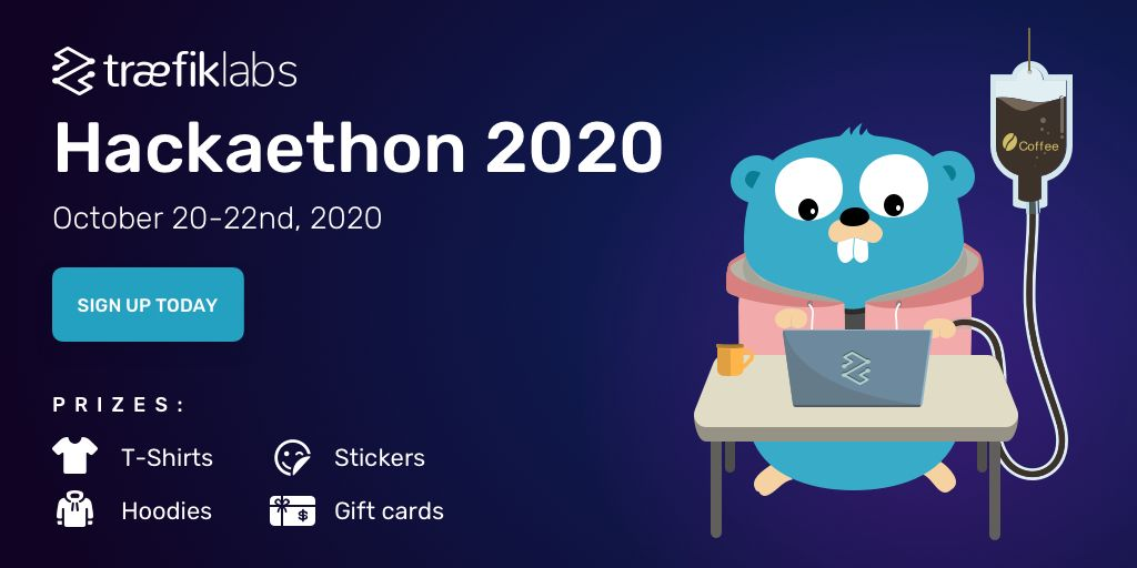 Sign up for the Hackaethon today and receive a t-shirt and sticker for participating!