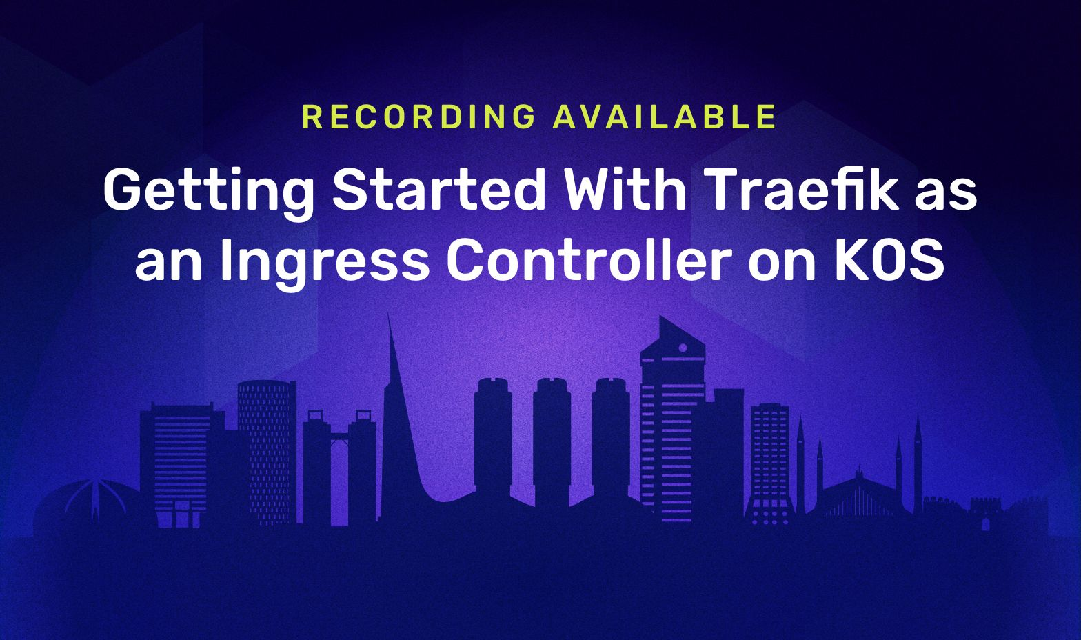 Getting Started With Traefik as an Ingress Controller On K0S project