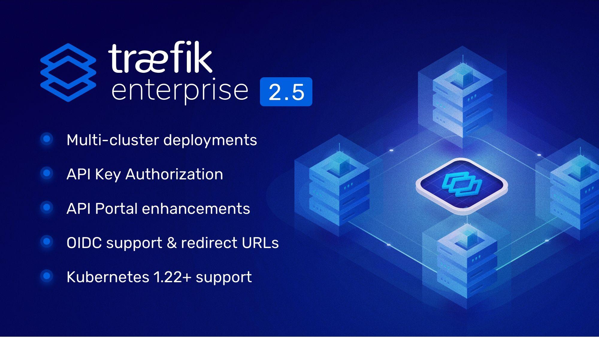 Announcing Traefik Enterprise 2.5